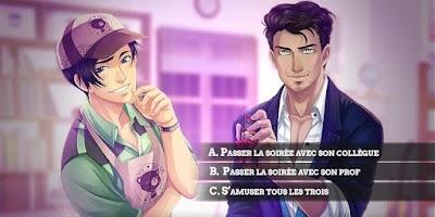 Screenshot 3: Amour Sucré - Otome games / Romance