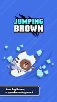 Screenshot 1: Jumping Brown