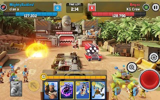 Screenshot 1: Mighty Battles