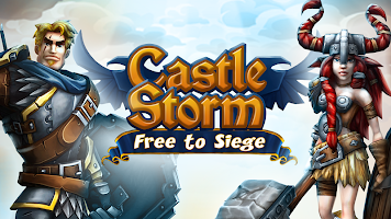 Screenshot 1: CastleStorm - Free to Siege