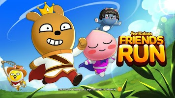 Screenshot 1: Friends Run for Kakao