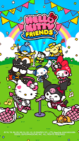 Screenshot 1: Hello Kitty Friends - Tap & Pop, Adorable Puzzles