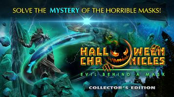 Screenshot 1: Hidden – Halloween Chronicles: Evil Behind a Mask