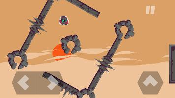 Screenshot 1: DERE EVIL EXE: Meta Horror Pixel Platformer
