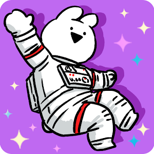 Icon: 好動兔子愛太空漫步