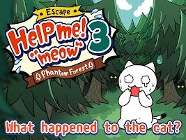 "Screenshot 1: Escape Game:Help me!""meow""3"