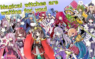 Screenshot 2: ディフェンスウィッチーズ【魔法少女タワーディフェンスゲーム】