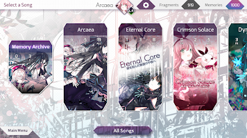 Screenshot 4: Arcaea
