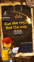 Screenshot 1: Relic Adventure - Rescue Cut Rope Puzzle Game