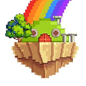 Icon: Pixel Art: Color Island