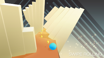 Screenshot 4: Swipe Rolling - Roll the ball in modern art