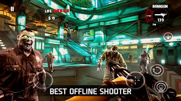 Screenshot 1: DEAD TRIGGER - Offline Zombie Shooter