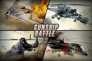 Screenshot 1: GUNSHIP BATTLE:直升機 3D Action
