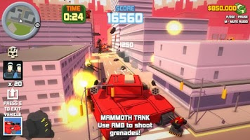 Screenshot 2: Crime Shooter: 3d Action Free Game