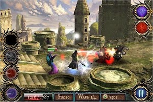 Screenshot 1: The Last Mage