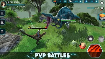 Screenshot 2: Dino Tamers - Jurassic Riding MMO
