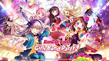 Screenshot 1: BanG Dream! Girls Band Party! (英文版)