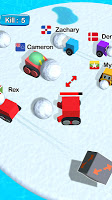 Screenshot 2: Snowball Fight.io