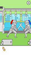 Screenshot 2: 電車で絶対座るマン - 脱出ゲーム