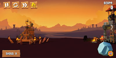 Screenshot 1: Crush the Castle: Siege Master