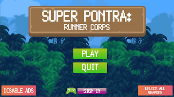 Screenshot 1: Super Pontra: Runner Corps