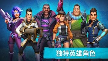 Screenshot 2: Heroes of Warland》--線上 3v3 PvP 動作遊戲