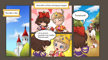 Screenshot 1: Kick the Prince: Princess Rush