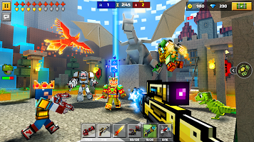 Screenshot 3: Pixel Gun 3D: FPS Shooter & Battle Royale