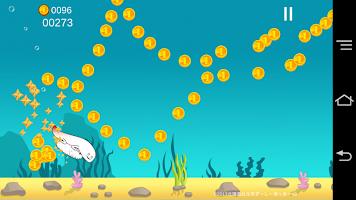 Screenshot 2: 壽司北寄貝的橫向捲軸遊戲