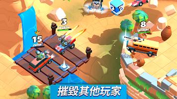 Screenshot 2: 瘋狂撞車王 (Crash of Cars)