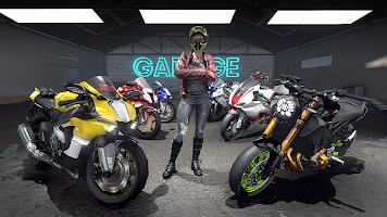 Screenshot 4: Moto Street Racers
