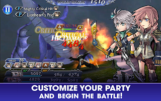 Screenshot 3: DISSIDIA FINAL FANTASY OPERA OMNIA (English)