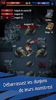 Screenshot 3: Roguelike RPG Donjon – Ordre du Destin Hors ligne