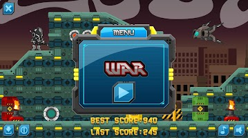 Screenshot 1: War Run