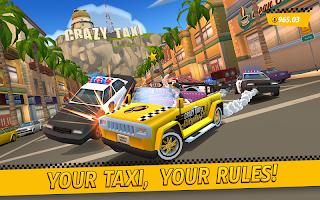 Screenshot 1: Crazy Taxi™ City Rush