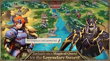 Screenshot 2: Langrisser Mobile (English)