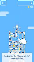 Screenshot 1: Human Tower