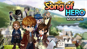 Screenshot 1: Song of Hero : Music RPG
