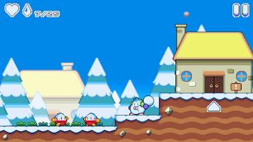 Screenshot 1: Snow Kids: Snow Game Arcade!