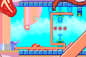 Screenshot 4: Silly Sausage in Meat Land