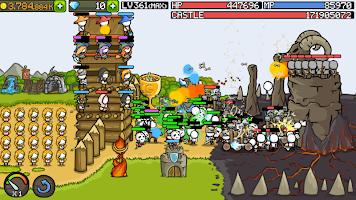 Screenshot 1: 成長城堡